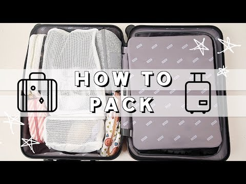 How to Pack like a Pro   Pack with ME 4 Day Carry-On Trip   Travel Organization Hacks   Miss Louie