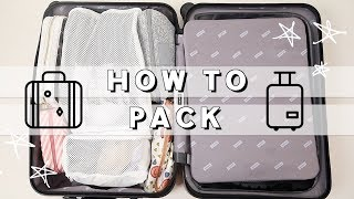 How to Pack like a Pro | Pack with ME 4 Day Carry-On Trip | Travel Organization Hacks | Miss Louie