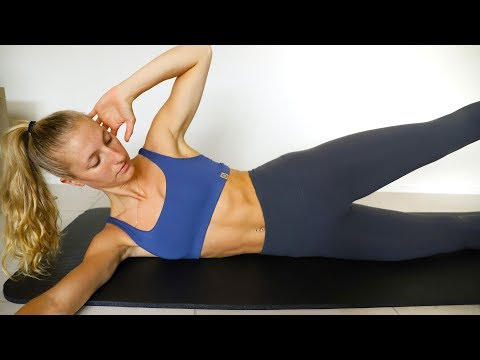 15 min TOTAL CORE/AB WORKOUT (At Home No Equipment)