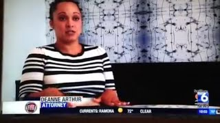 Deanne Arthur talks to CW 6 about the Ray Rice Domestic Violence