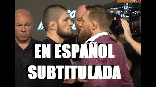 Download KHABIB vs McGREGOR - UFC 229 RESUMEN de Conferencia SUBTITULADA Mp3 and Videos