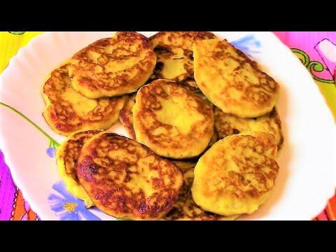 Супер вкусные картофельные оладьи .Как приготовить оладьи из сухого картофельного пюре .