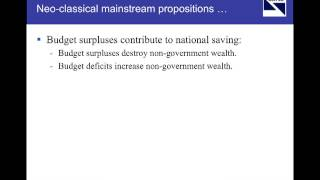 Framing Modern Monetary Theory Presentation