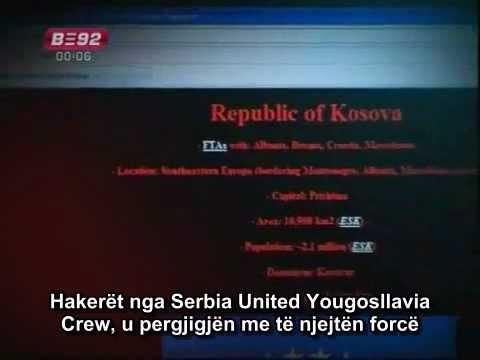 Kosova Hackers Group ne emision Serb(me perkthim)