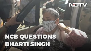 <b>Comedian Bharti Singh</b> Being Questioned By Anti-Drugs Agency ...