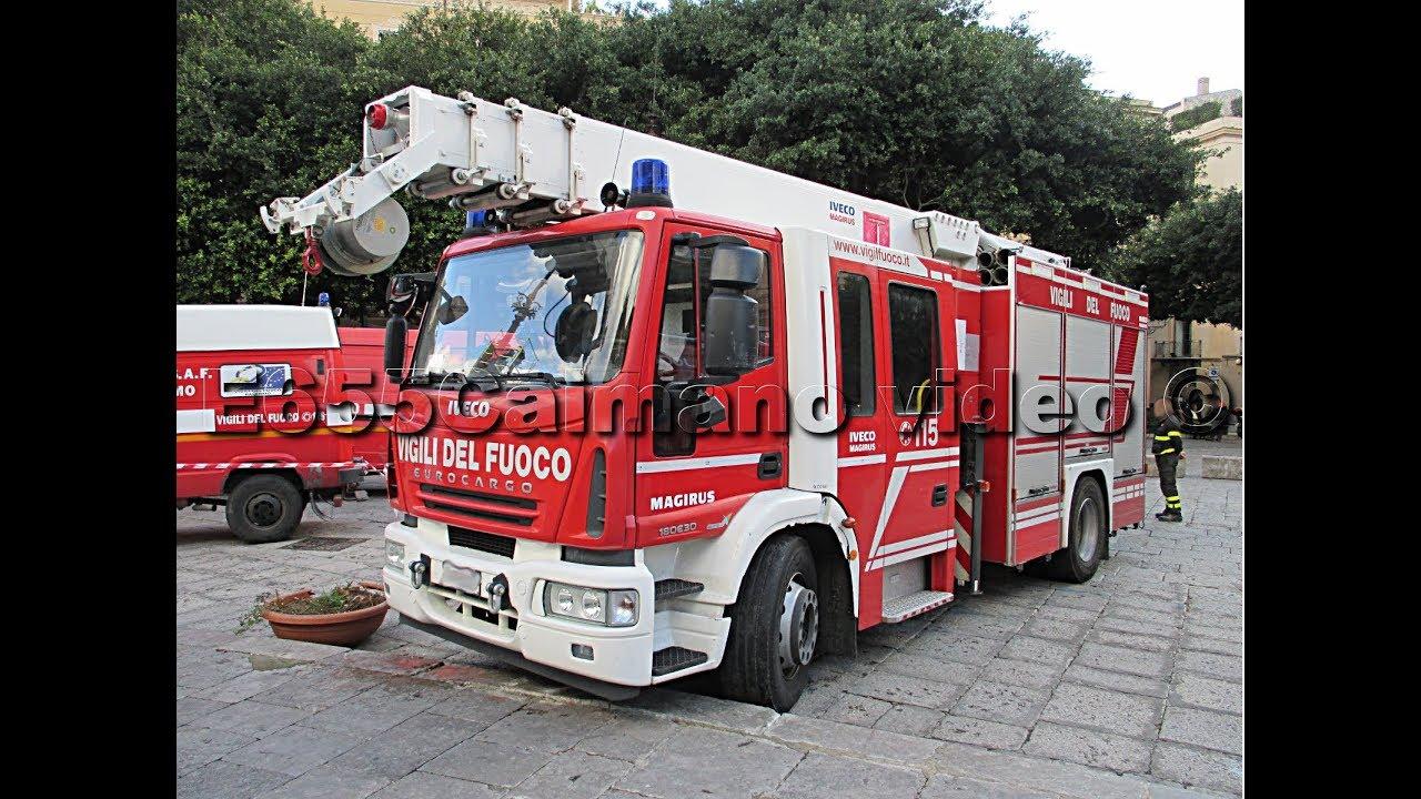 Sirena Vigili Del Fuoco Pompieri Polizia Carabinieri Ambulanza In Sirena Azione Parte 2