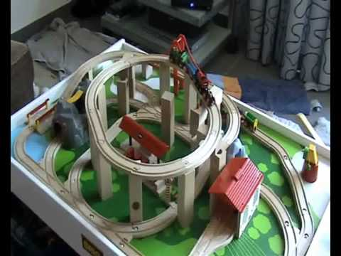 linus 2 jahre und seine brio eisenbahn youtube. Black Bedroom Furniture Sets. Home Design Ideas