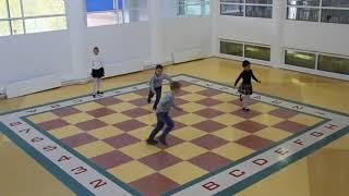 Шахматы детьми ))) Игры на доске
