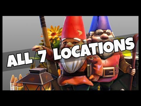 Fortnite: Search the Hidden Gnome in 7 Different Locations