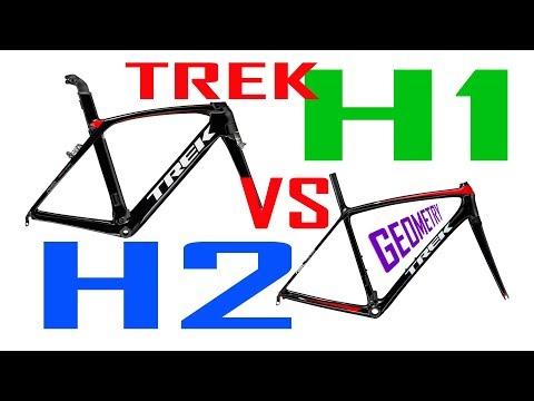 TREK H1 vs H2 FIT - Madone and Emonda