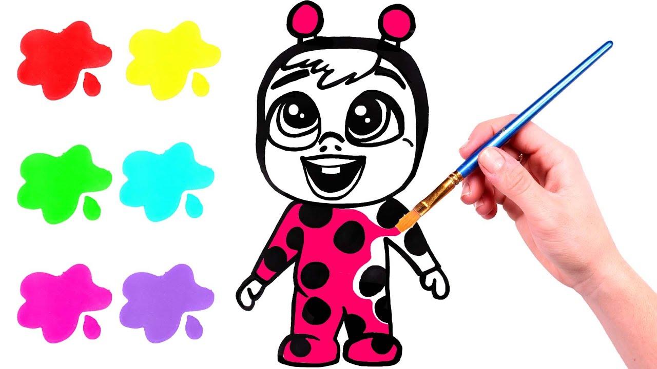 Dibuja Y Colorea A Los Bebés Llorones Dibujos Animados Youtube