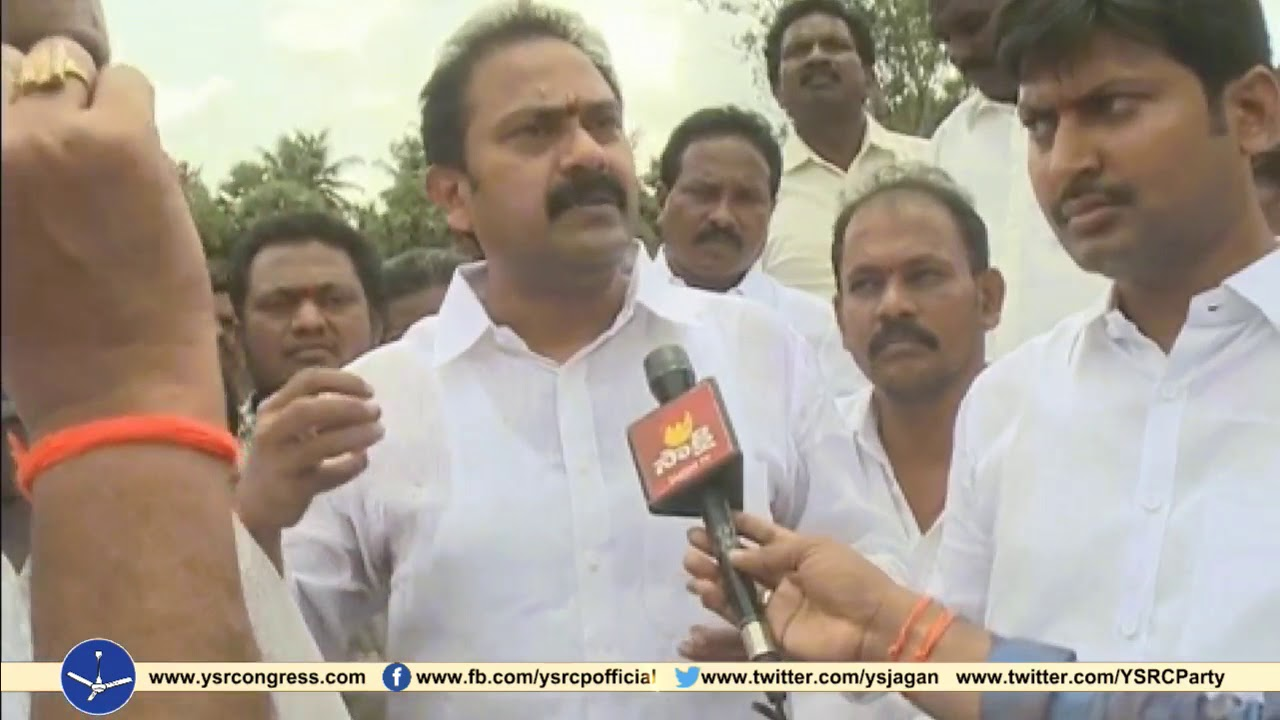 YSRCP MLC Alla Nani fire on Chintamaneni Prabhakar over destroying fields