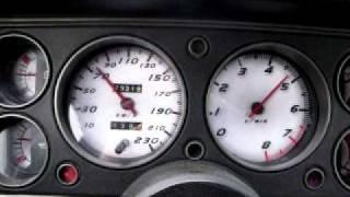 Ford Capri 1.6 GT (OHC Engine, Pinto)  0-100 km/h TEST(1600ccm Motor, just
