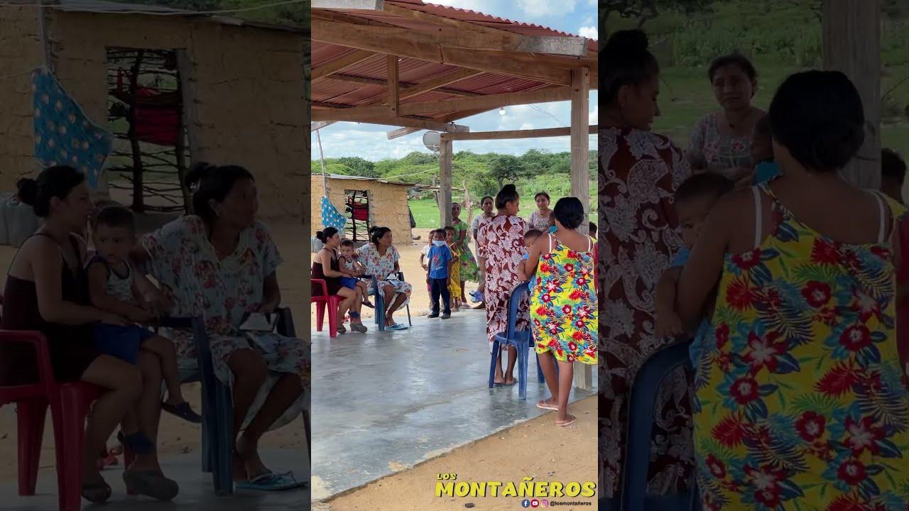 Llevamos alegria a los niños de la guajira 😍😍😍😍😍😍😍