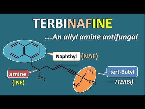 Terbinafine - An Allyl Amine Antifungal Agent   Mechanism And Uses