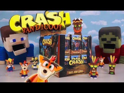 Crash Bandicoot Vinyl Blind Box Figure Kidrobot Mini Series Mystery CHOP