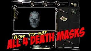 Resident Evil HD Remastered - How to get ALL 4 DEATH MASKS! [3 Puzzles] (Chris & Jill)