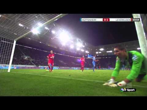 Bayer Leverkusen ghost goal very bizzare