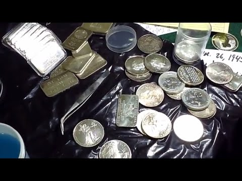 Silver cleaning mixed results. Battle continues