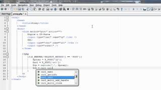 PHP - UtilIzando Proxy na lib cURL. Mp3
