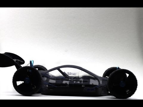 Electric rc Car Team Associated Rc8b on board camera front view