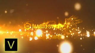 Free Sony Vegas Pro Intro Magic Swish Logo & Text Reveal | SV FX