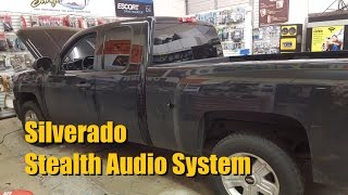 Builds: Silverado Stealth Audio System
