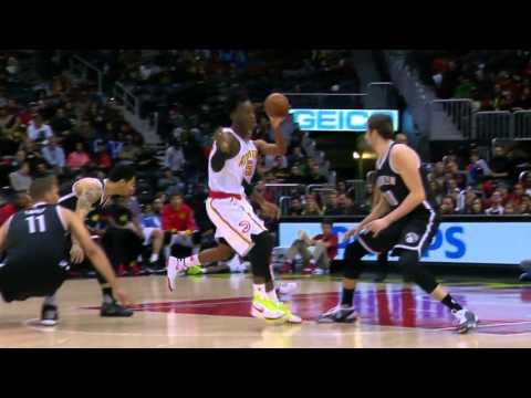 Brooklyn Nets vs Atlanta Hawks | January 16, 2016 | NBA 2015-16 Season