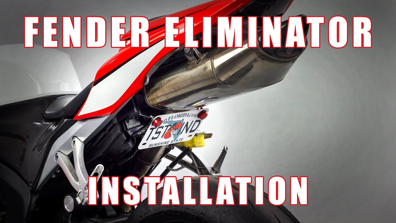 maxresdefault how to install fender eliminator on a 07 12 honda cbr 600 rr by  at n-0.co