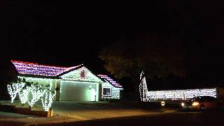 Christmas lights synced with music!