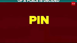 Pin code in India