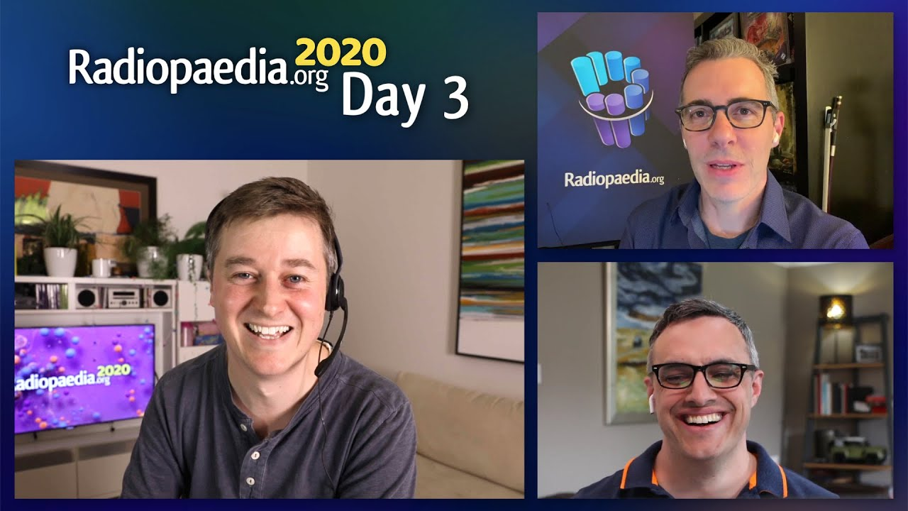 Radiopaedia 2020 - Day 3 Conference Guide