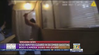 Body cam video released from officer-involved shooting incident