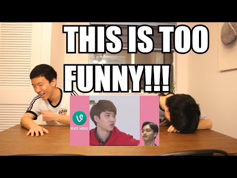 EXO VINES REACTION (EXOSEXO) PART1 [THIS IS TOO FUNNY!!!]