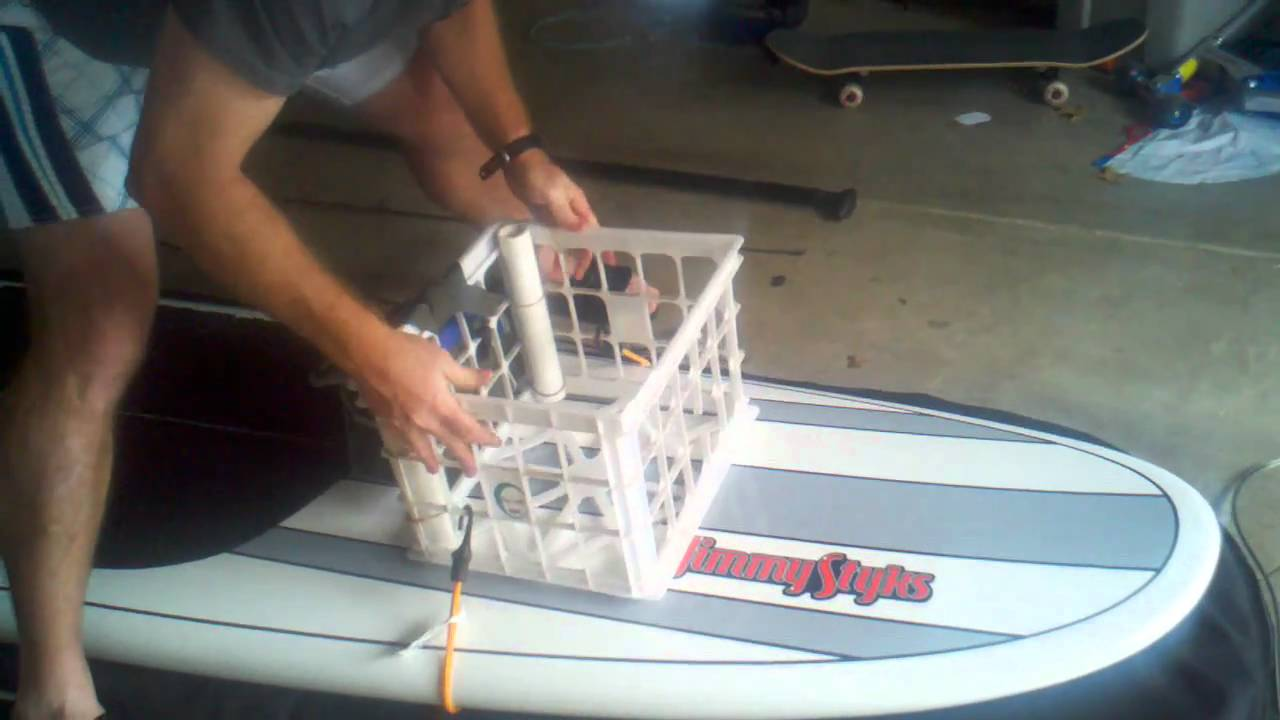 fishing chair setup timber ridge zero gravity with side table set up for paddleboard youtube