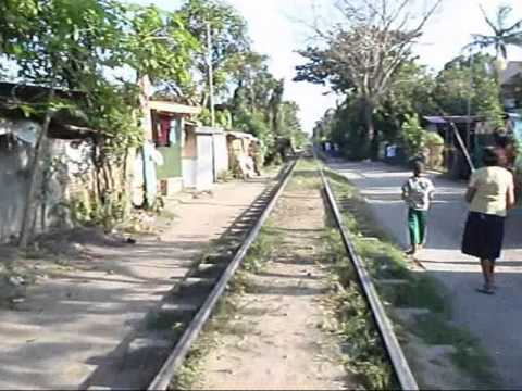 Local rail travel in Luzon