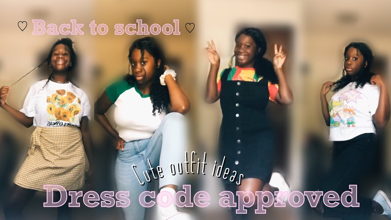 [VIDEO] – Back to school outfit ideas *dress-code approved*