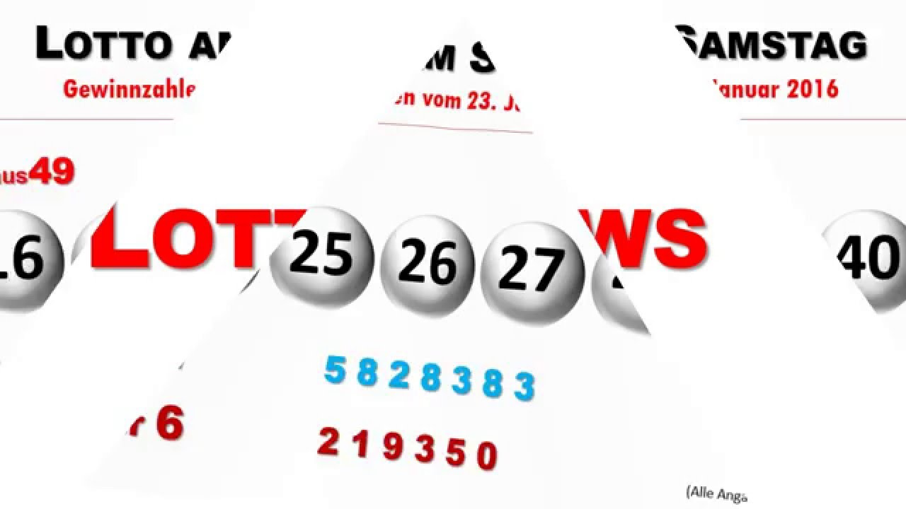 LottoergebniГџe Samstag