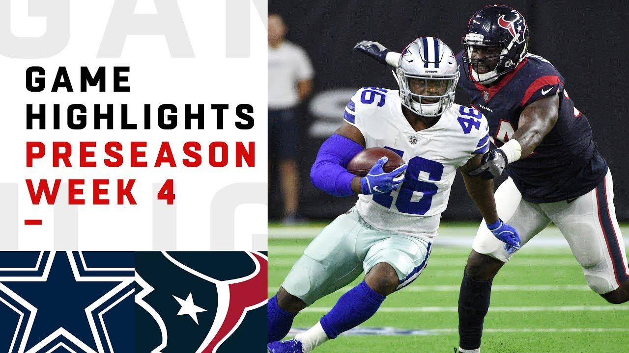Cowboys vs. Texans Highlights  f2dfc4c78
