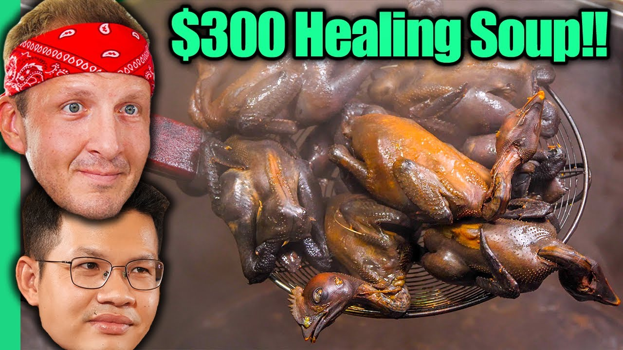 Asia's EXPENSIVE Healing Food!! RARE Eastern Traditional Foods!!