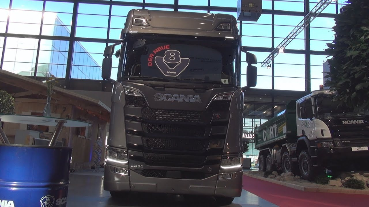 Scania S 650 A4x2NA Tractor Truck (2018) Exterior and Interior - YouTube