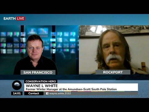 Wayne White, former Winter Manager at the Amundsen-Scott South Pole Station