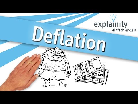 Deflation einfach erklärt