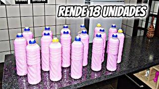 Faça 17 Detergentes Iguais Aos Do Mercado Com Apenas 2,50