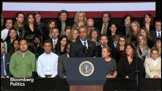 Obama to Hecklers: `I Heard You'