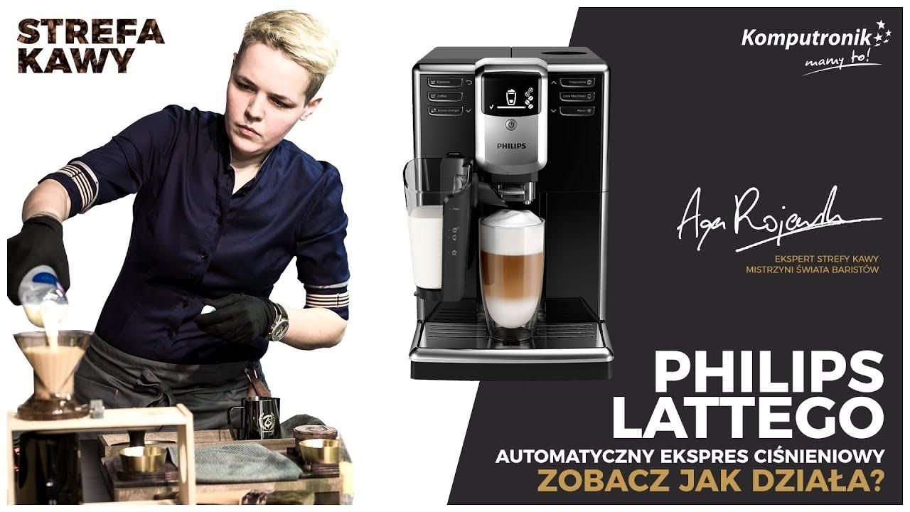 Philips LatteGo EP5340 | Zobacz jak działa