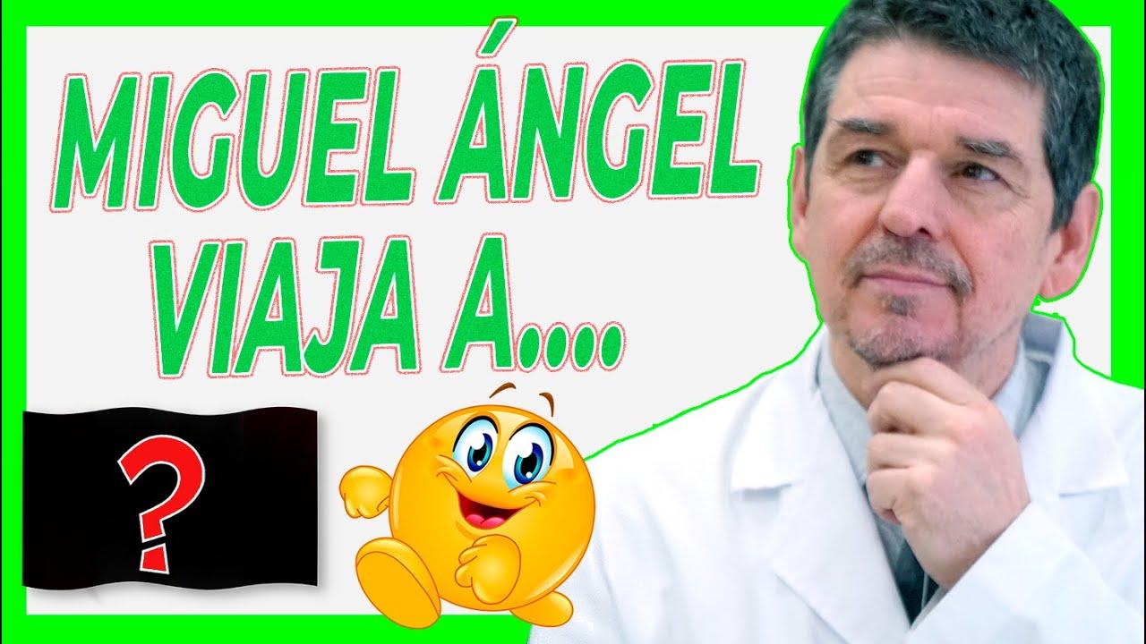 En Julio de 2021 Miguel Ángel se va de Viaje A....