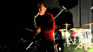 John Butcher solo saxophone, live at Gunther, Antwerpen, 2012-02-22 [part 1/4]
