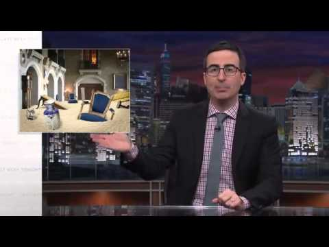 Comedian John Oliver slams Erdoğan's Grand Palace