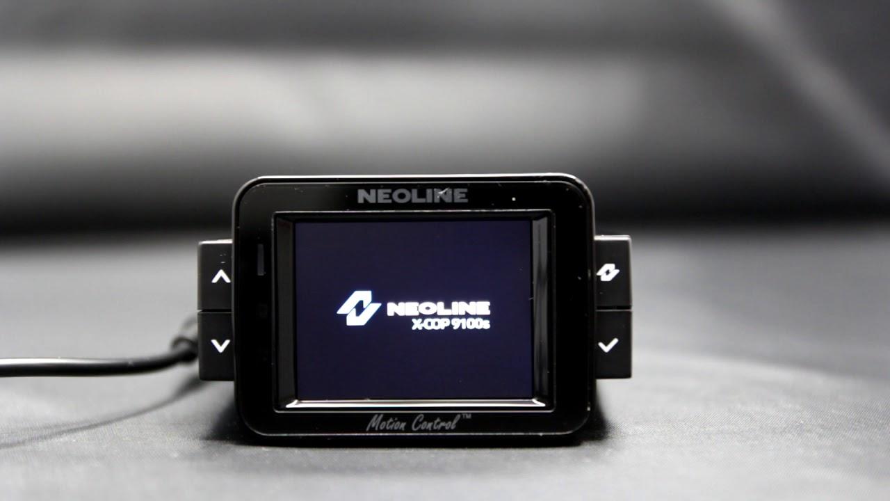 Neoline X-COP 9100s обновление базы радаров - YouTube